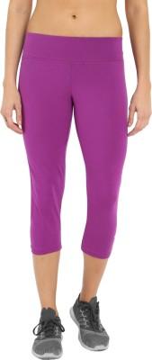 Jockey Women's Purple Capri