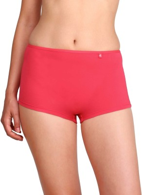 Jockey Women's Boy Short Red Panty