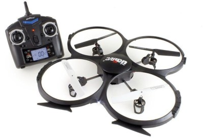 Udi RC U818a - 1 Discovery 2.4 GHz 4 Ch 6 Axis Gyro Rc Quadcopter With HD Camera