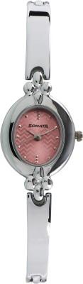 Sonata 8093SM02C Analog Watch  - For Women