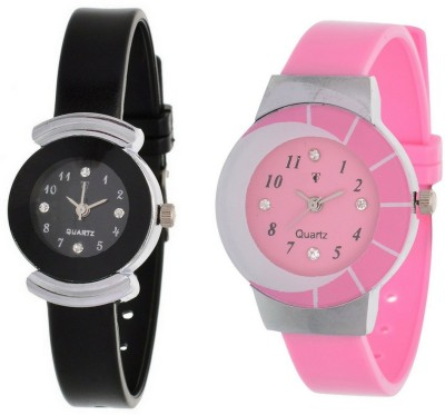 On Time Octus Combo Pack Of 2 AJS060 Analog Watch  - For Women