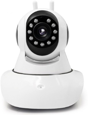 Padraig Home Security Camera, Wi-Fi Wireless, HD IP Security Camera CCTV, Supports up to 128 GB SD card, Dual Antenna, Fully Night Vision, Smart Monitoring System, Suitable Mobile, Tablet, Laptop, Desktop, (White, ) 1 Channel Home Security Camera