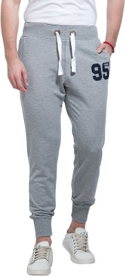 Alan Jones Solid Men's Grey Track Pants