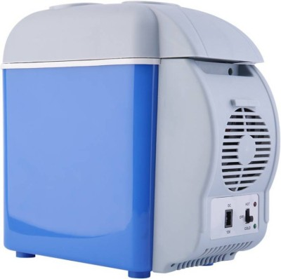 Tradeaiza TT00101 Cooling & Warming 7.5 L Car Refrigerator (Blue, Grey)-001 7 L Car Refrigerator