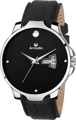 Armado AR-049-BLK STYLISH DAY AND DATE Watch  - For Men