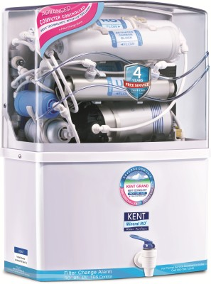 Kent GRAND MINERAL (11007) 8 L RO + UV +UF Water Purifier