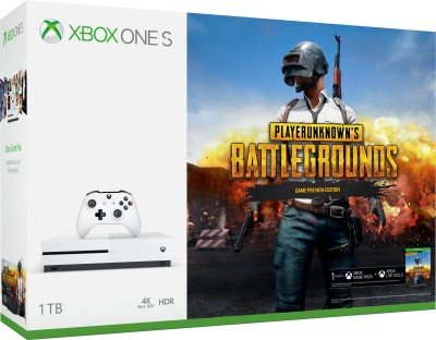 Microsoft Xbox One S 1 TB withPlayerUnknown's Battlegrounds
