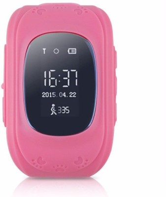 Estar BABY'S PINK SMARTWATCH GPS Smart Watch For Kid Safe Wristwatch SOS Call Location Finder Locator Tracker For Child Anti Lost Monitor Baby Wristwatch-PinkQ50 GPS Smart Watch For Kid Safe Wristwatch SOS Call Location Finder Locator Tracker For Child Anti Lost Monitor Baby Wristwatch-Pink PINK Smartwatch