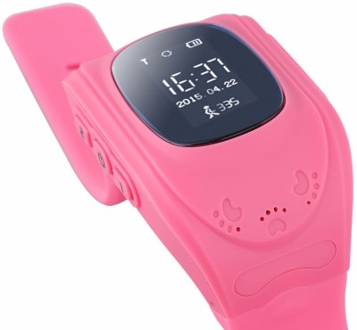 MOBILE FIT Generic PINK: LEMADO Q50 Cute for kids Smart Watch SOS Call Location Finder Locator Tracker for Child Anti Lost Monitor Baby Wristwatch PINK Smartwatch