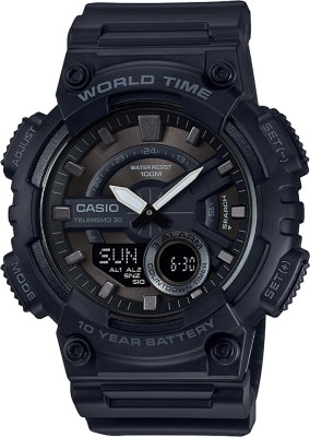 Casio AD218 Youth Combination Analog-Digital Watch  - For Men