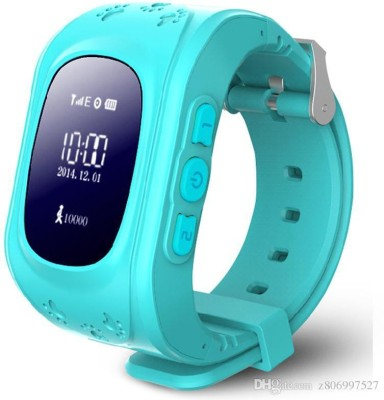 MOBILE FIT Generic BLUE : LEMADO Q50 Cute for kids Smart Watch SOS Call Location Finder Locator Tracker for Child Anti Lost Monitor Baby Wristwatch BLUE Smartwatch