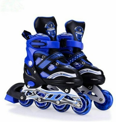 DHAWANI Skating Shoe have different size and with PU LED wheel In-line Skates - Size 38 - 41 UK In-line Skates - Size 6-9 UK