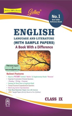Golden English Language and Literature (MOMENTS and BEEHIVE) for Class - 9 with Sample Papers