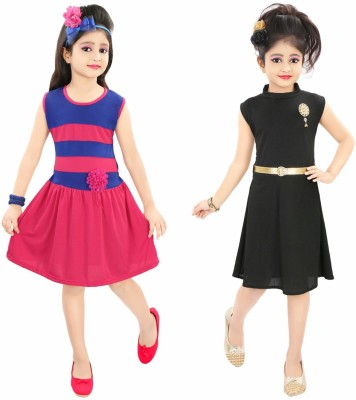 Style Junction Girls Midi/Knee Length Party Dress