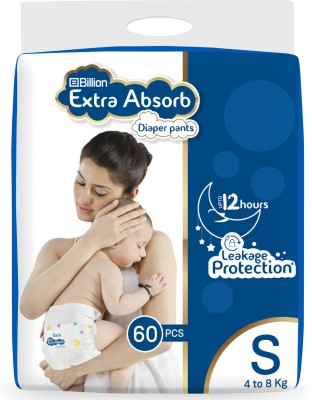 Billion Extra Absorb Diaper Pants - S