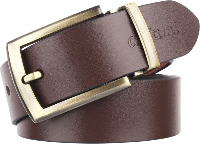 Urban Alfami Men Party, Formal, Casual Brown Genuine Leather Belt