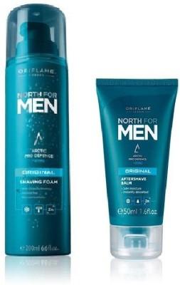 Oriflame Sweden Oriflame North For Men Original Shaving Set (Shaving Foam & After Shave Balm)