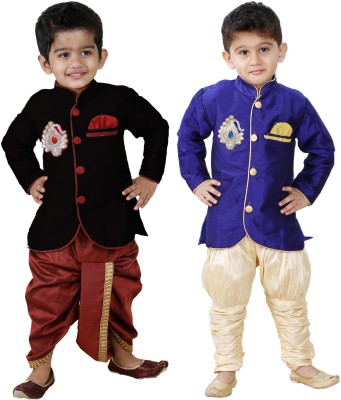 smartbazar Boys Festive & Party Dhoti & Kurta Set