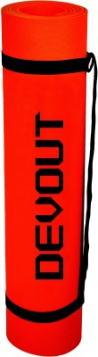 Devout Red With Strap Red, Black 5 mm Yoga, Exercise & Gym Mat