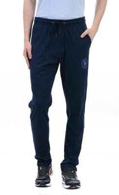 U.S. Polo Assn Solid Men Dark Blue Track Pants