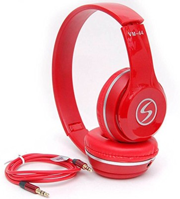 ShopyBucket Powerful Bass Driven Stereo Sound Bass Solo Headphones For All Smartphones Wired Headset with Mic