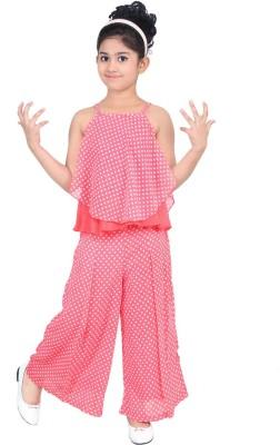 nukids Girls Party(Festive) Top Pyjama
