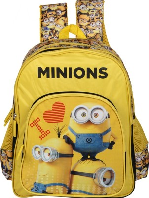 Despicable Me I Love Minions School Bag