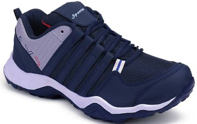 Clymb Dangal Navy Blue Casual Sports Running Shoes For Men