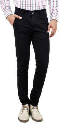 Uber Urban Rocky Slim Fit Men's Black Trousers