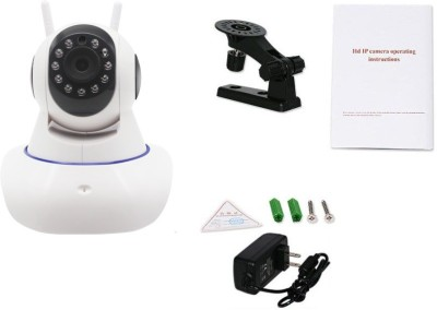 Benison India ™ 720P Megapixel Video Wireless IR Smart Mini Dome V380 HD Pan Tilt IP P2P WIFI with FTP and Local Alarm 1 Channel Home Security Camera Security Camera