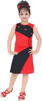 stylokids Girls Midi/Knee Length Casual Dress