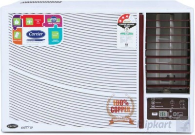 Carrier 1.5 Ton 3 Star BEE Rating 2018 Window AC  - White