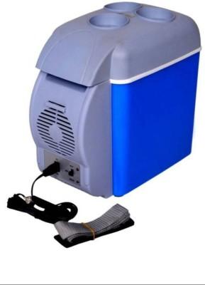 Mezire MF07 ™Cooling & warming Portable frigde 6 L Car Refrigerator(Blue) 6 L Car Refrigerator