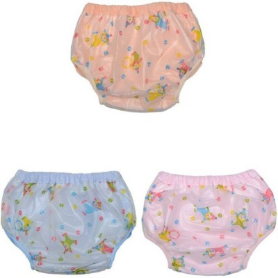 Babique Baby Training Pants Printed - S (3 Pieces) - S