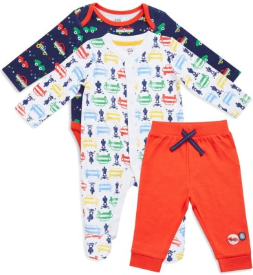 Mini Klub Boy's Casual T-shirt Sleepsuit