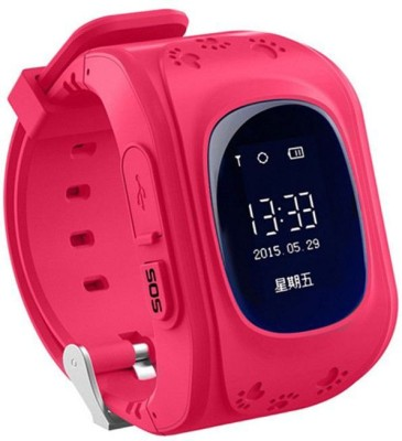 SYL Estar Generic Pink support : GPS smart watch baby watch Q50 with Wifi touch screen SOS Call Location Device Tracker for Kid Safe Anti-Lost Monitor PK PINK Smartwatch PINK Smartwatch