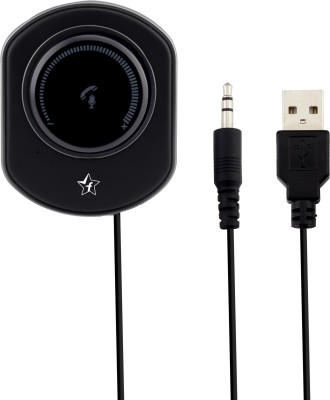Flipkart SmartBuy v4.2 Car Bluetooth Device with USB Cable, Audio Receiver, 3.5mm Connector