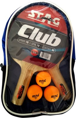 Stag CLUB PLAYSET WITH 2 BAT,3 BALL Table Tennis Kit