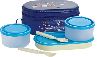 Cello Full on Blue 3 Containers Lunch Box