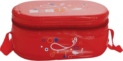 Cello Full on Red 3 Containers Lunch Box