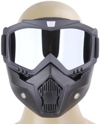 Auto Hub Protective Bike Riding Face Mask, Face Shield Motorcycle Goggles Camping Kit