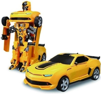 nvcollections Robot Transformer Converting Into Kids Toy Car