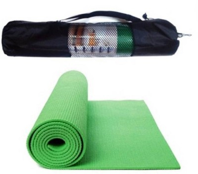 AKR 100%EVA Eco Friendly Mat With Bag Green 6 mm Yoga Mat