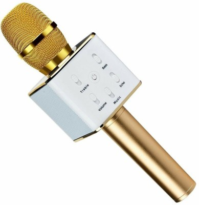Zurie Toy Collection Multi Magic Karaoke Microphone Wireless, MM Portable Handheld Singing Machine Condenser Microphones Mic And Bluetooth Speaker