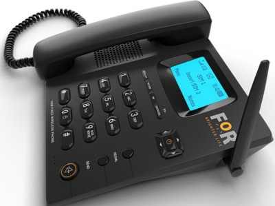 FOR GSM DUAL SIM F1+FIX WIRELESS PHONE,CORDED&CORDLESS Corded Landline Phone with Answering Machine