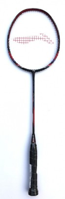 Li-Ning Chen Long Series CL 100 High-Tension Graphite Black, Red Strung Badminton Racquet