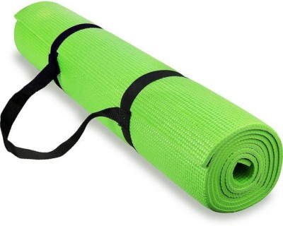 Quick Shel 4MM 100%EVA Eco Friendly Mat GREEN 4mm Yoga, Exercise & Gym Mat With Yoga Strap Green 4 mm Yoga, Exercise & Gym Mat