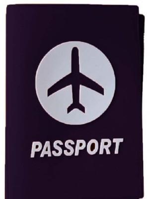 MStick Premium Quality Soft Silicon Casual Design Documents Passport Cover Holder