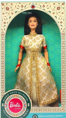 Barbie In India-Visits Taj Mahal