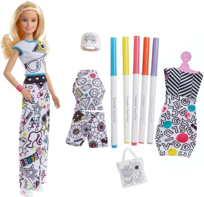 Barbie Crayola Color-in Fashions
